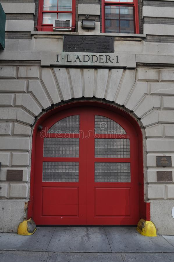 New York Fire Station Ladder 1. An image of New York Fire Station Ladder 1 stock photography