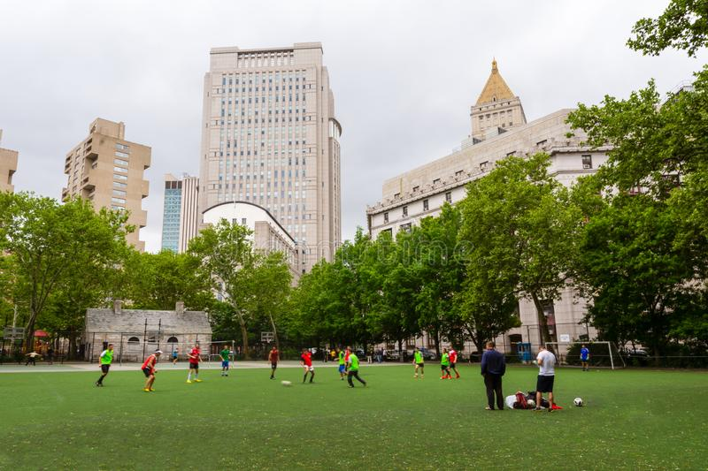 New York - Football en ville