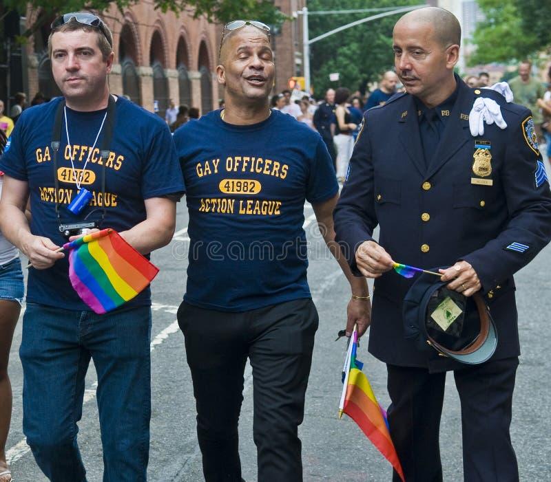 New York gay pride royalty free stock photos