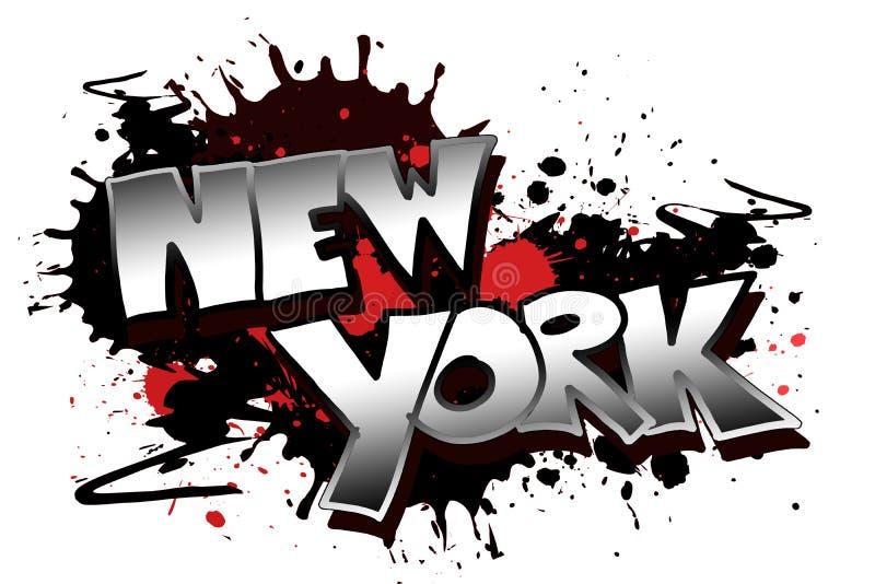 Download New York Grunge stock illustration. Image of design, modern - 7729492