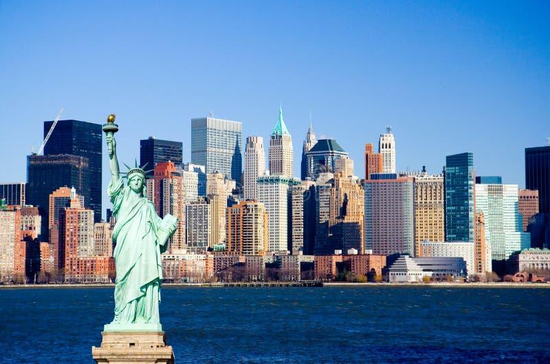 New York Harbor royalty free stock image