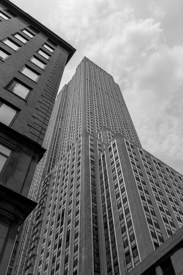 New York horisont #1 royaltyfria bilder