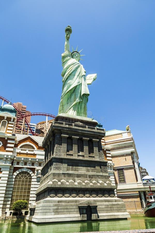 New York Hotel & Casino in Las Vegas royalty free stock photography