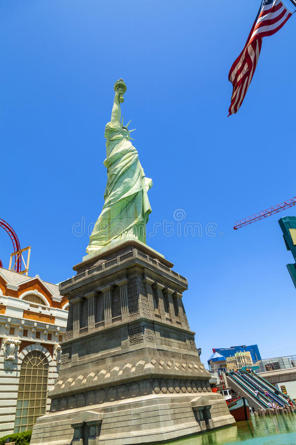 New York Hotel & Casino in Las stock image