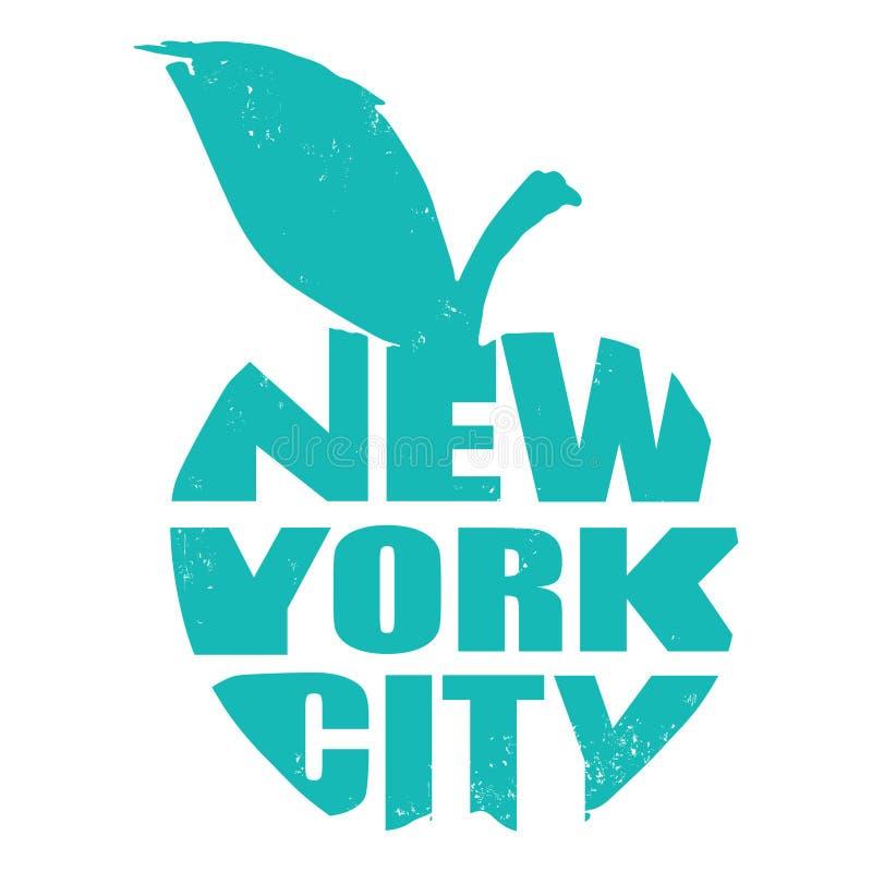 New York illustration stock illustrationer