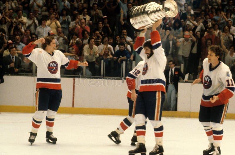 New York Islanders, Stanley Cup Champions photos stock