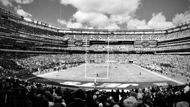 New York Jets @ MetLife-Stadion lizenzfreie stockfotografie