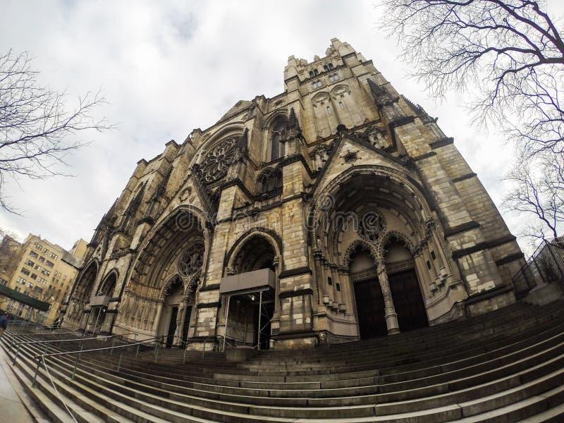 New York kyrka royaltyfri foto