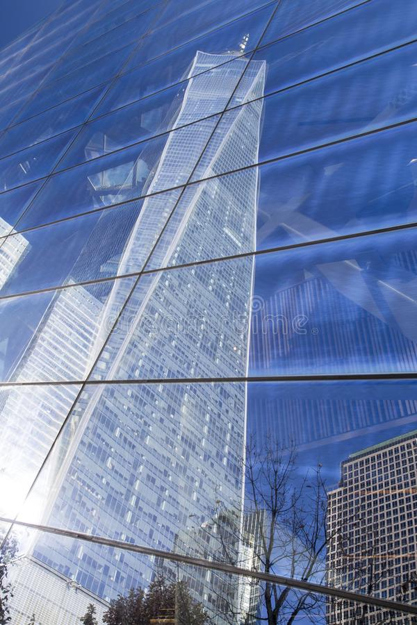 New York, Lower Manhattan et secteur financier photos stock