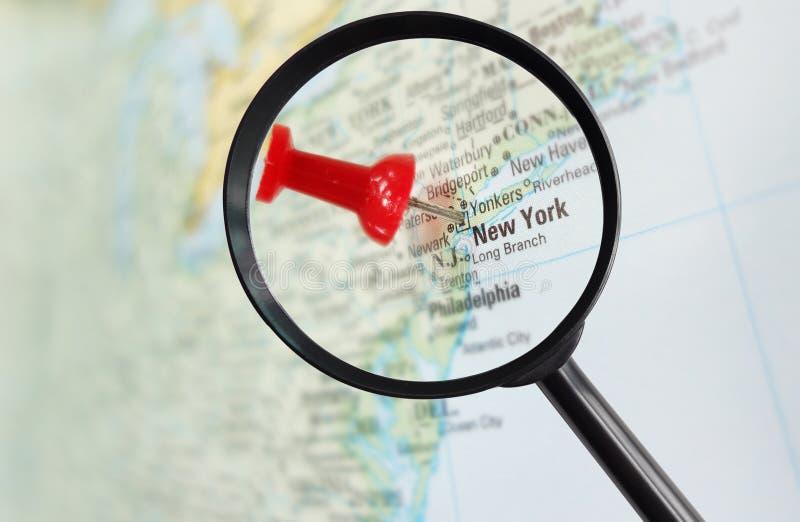 New York a magnifié photographie stock libre de droits