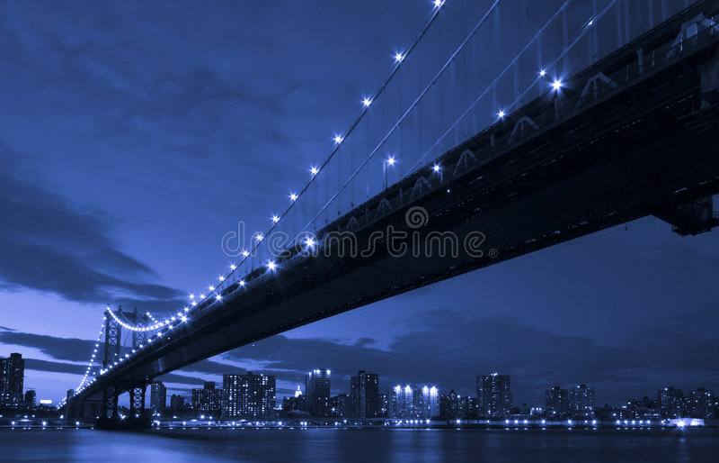 New York Manhattan Bridge stock images