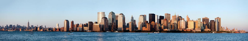 New York Manhattan Skyline stock photography
