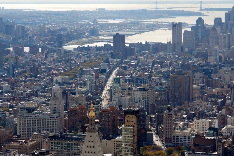 New York Manhattan und Brooklyn zum Staten Island stockfotografie