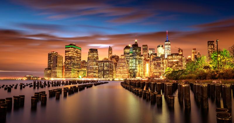 New York Manhatten royaltyfri foto