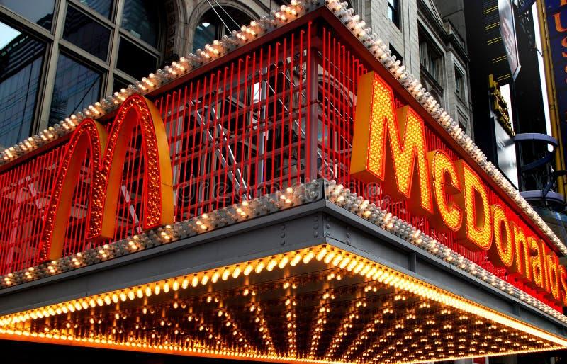 New York mcdonald fotos de stock