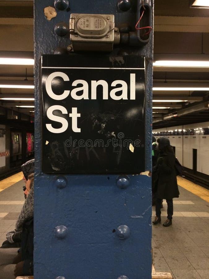 New York metro stock image