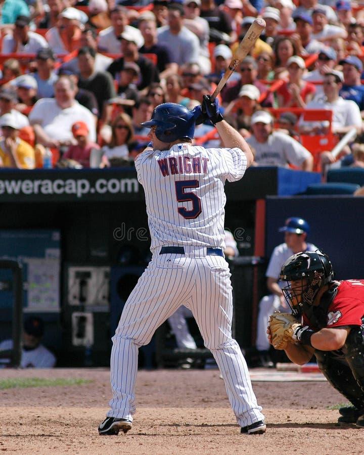 New York Mets 3B David Wright royalty free stock photos