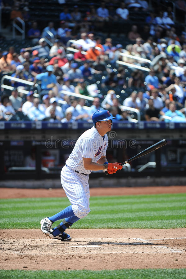 New York Mets ss Wilmer Flores fotografia stock