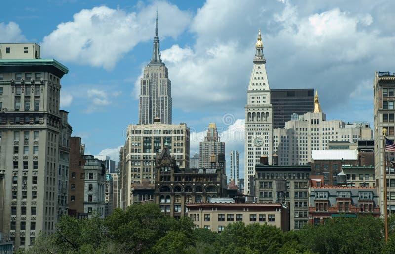 New York, Midtown immagini stock libere da diritti