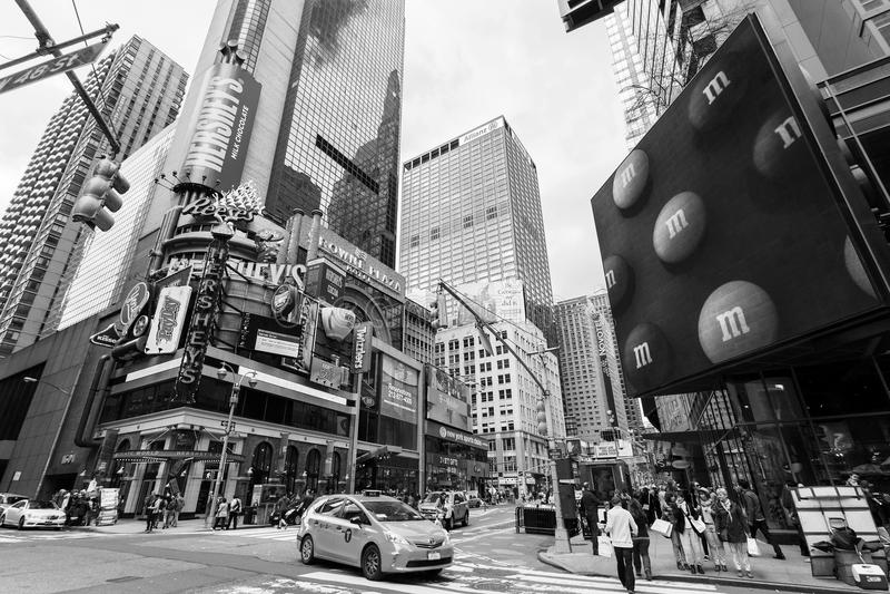New York, Midtown, Manhattan, New York City, Etats-Unis images stock