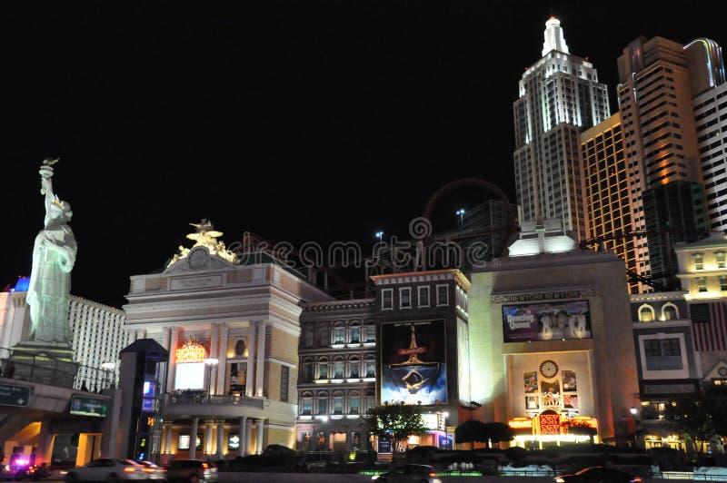 New York New York Hotell-kasino I Las Vegas Redaktionell Fotografering för Bildbyråer
