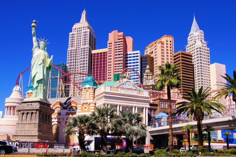 New York New York, Las Vegas royaltyfria bilder
