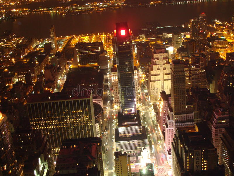 Download New York by night stock image. Image of home, apartment - 26614429