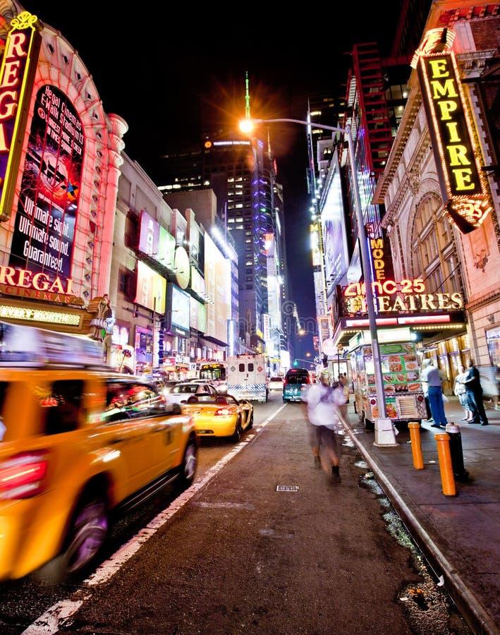 New York Nights stock photography