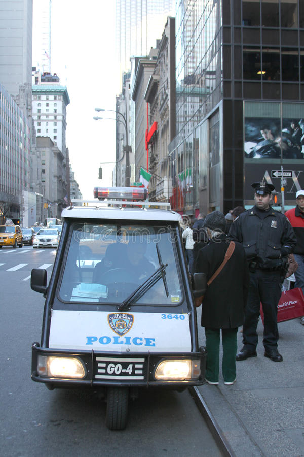 Download NEW YORK - NOVEMBER 28 editorial stock photo. Image of enforcement - 18432353