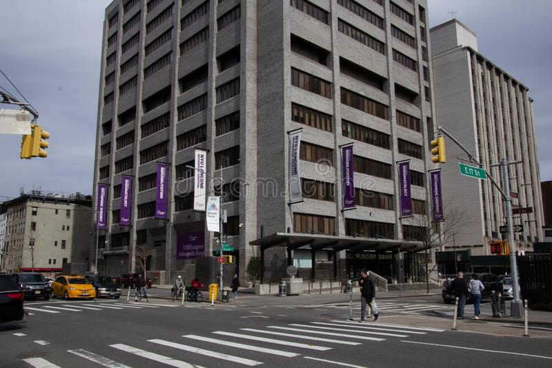 NYU editorial stock photo  Image of leonard, urban, entrance