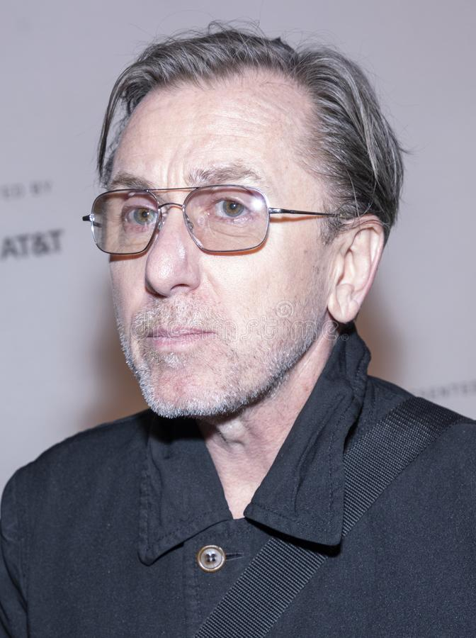 TFF 2019 - Luce. New York, NY, USA - April 28, 2019: Tim Roth attends `Luce` premiere during 2019 Tribeca Film Festival at The Stella Artois Theatre, Manhattan stock images