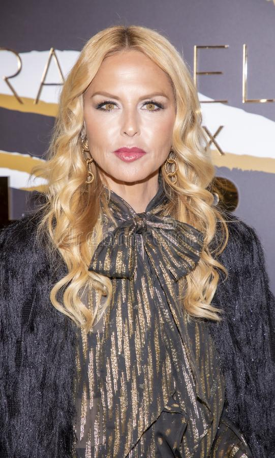 Rachel Zoe at Macy`s Herald Square. New York, NY, USA - December 3, 2019: Rachel Zoe attends the launch of her new beauty collection with LORAC at Macy`s Herald stock images