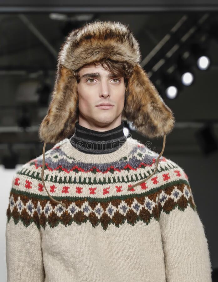 Todd Snyder FW 2020 stock image