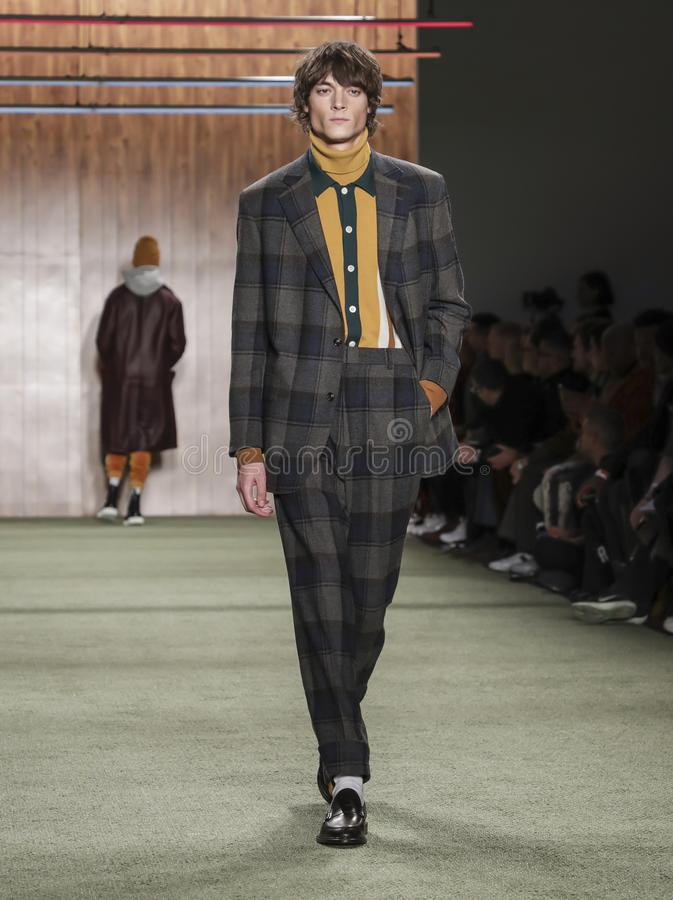 Todd Snyder FW19 stock photography