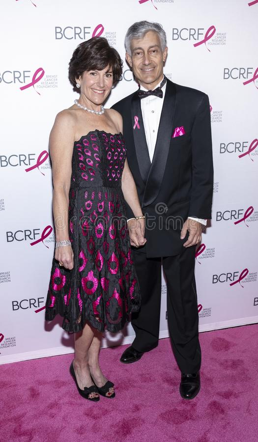 BCRF 2019 Hot Pink Party arrivals stock image