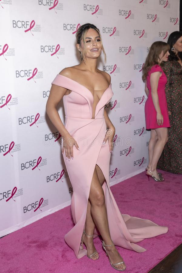 BCRF 2019 Hot Pink Party arrivals royalty free stock photography