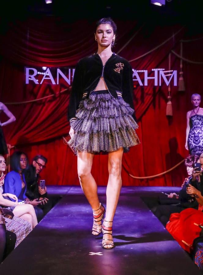 Randi Rahm FW 2020 royalty free stock photo