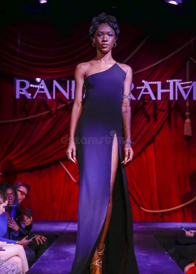Randi Rahm FW 2020 stock photo