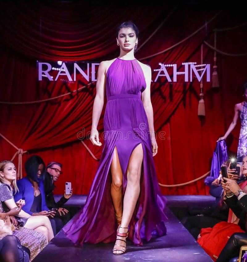 Randi Rahm FW 2020 royalty free stock images