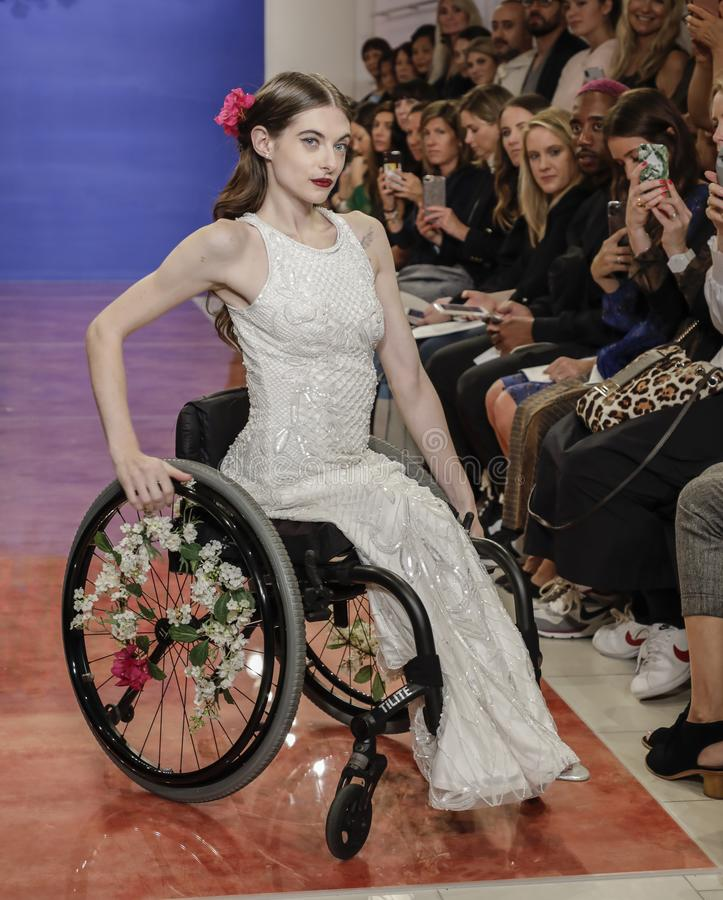 Theia Bridal Fall 2020 stock image