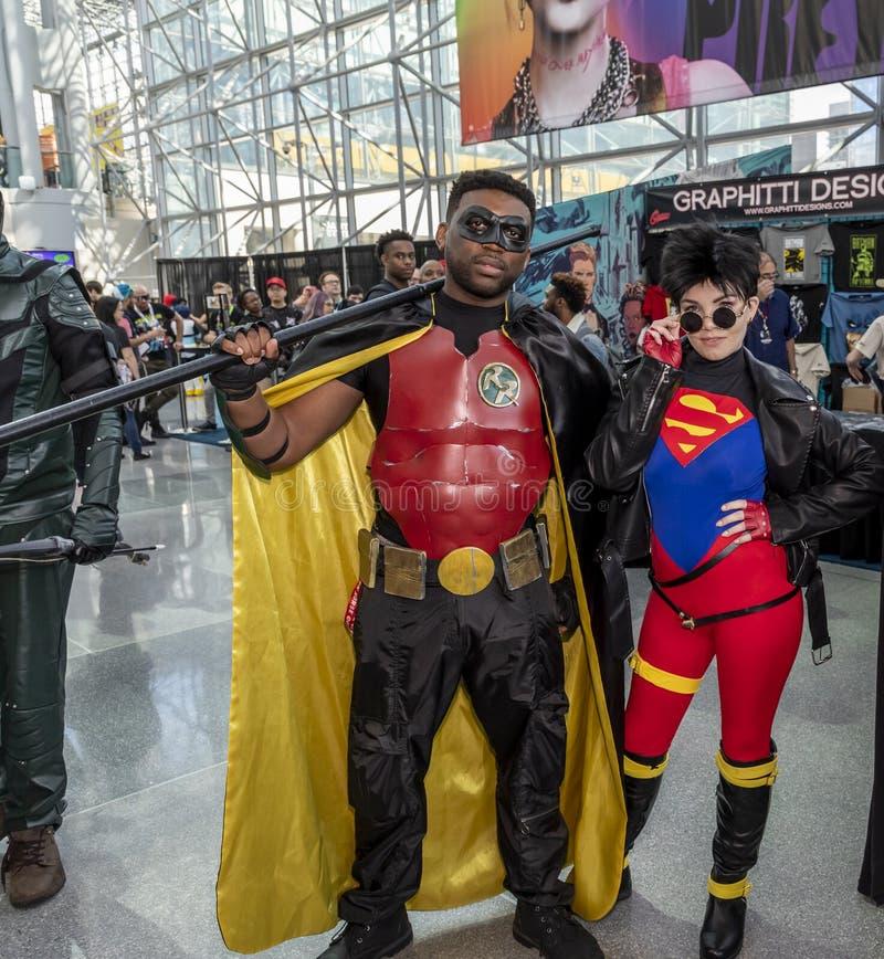 Comic Con NYC 2019 stock photo