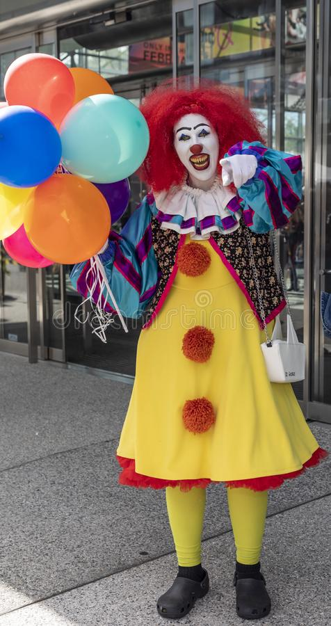 Comic Con NYC 2019 royalty free stock photo