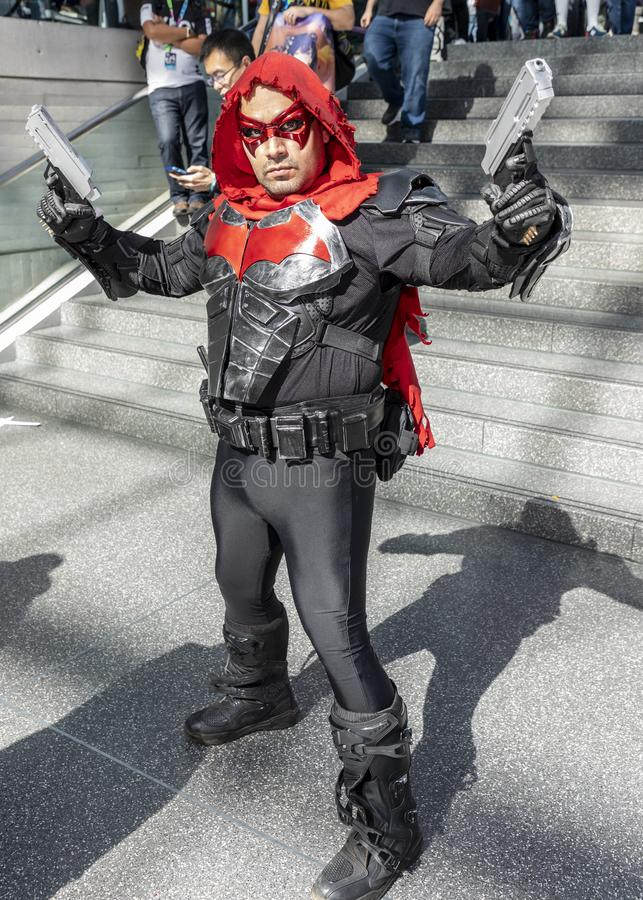 Comic Con NYC 2019 royalty free stock images