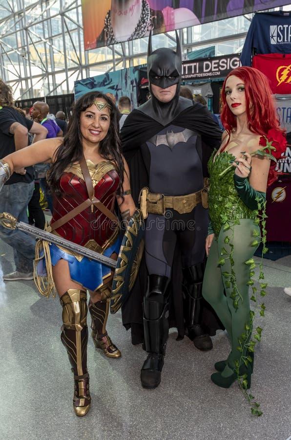 Comic Con NYC 2019 stock image