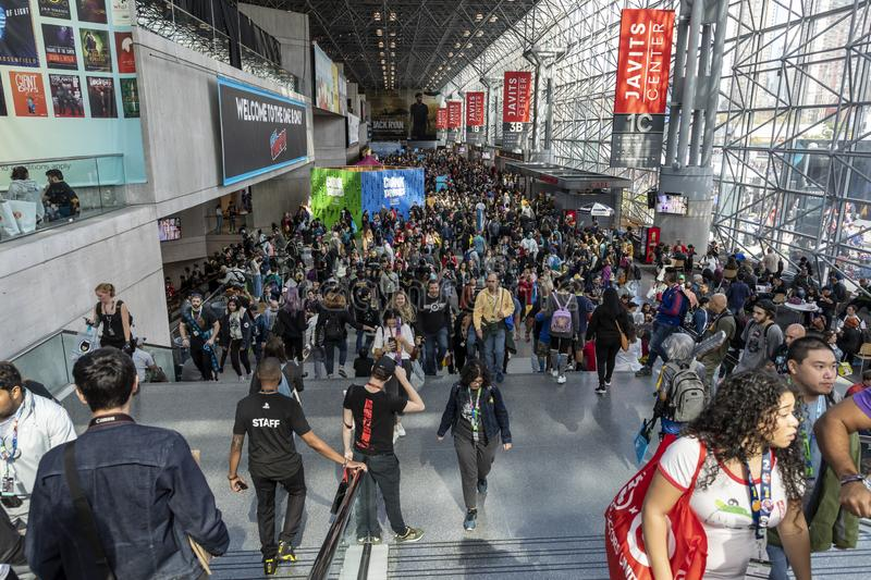 Comic Con NYC 2019 royalty free stock photography
