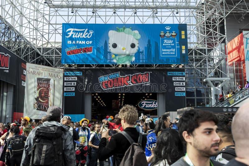 Comic Con NYC 2019 stock photography