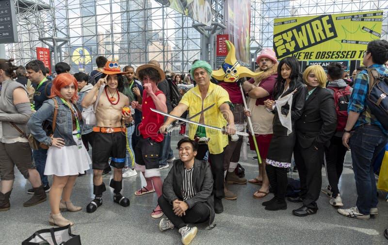 Comic Con NYC 2019 stock photos