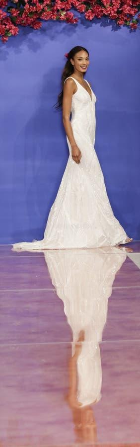 Theia Bridal Fall 2020 stock photos