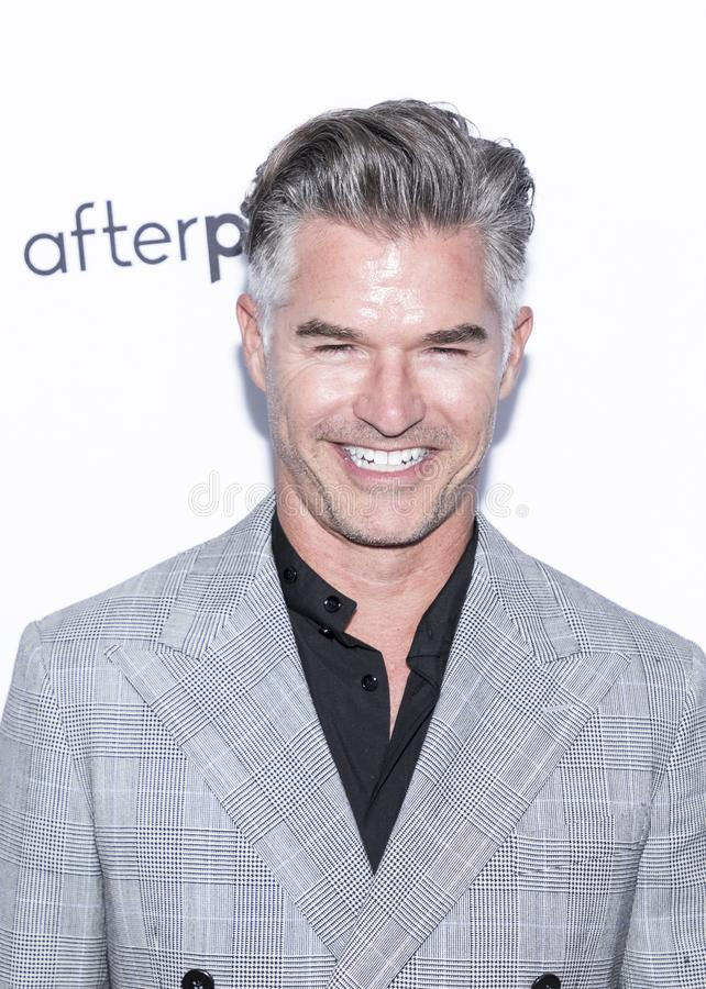 The Daily Front Row 7th Fashion Media Awards. New York, NY, USA - September 5, 2019: Eric Rutherford attends The Daily Front Row 7th Fashion Media Awards at The royalty free stock images