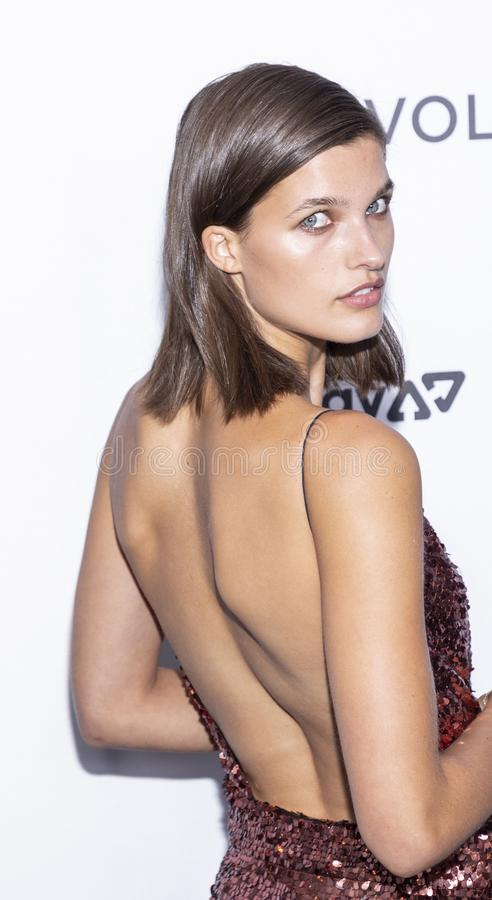 The Daily Front Row 7th Fashion Media Awards. New York, NY, USA - September 5, 2019: Julia van Os attends The Daily Front Row 7th Fashion Media Awards at The royalty free stock image